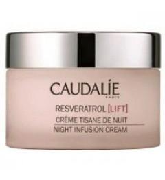 Caudalie Resveratrol Lift Crème Tisane de Nuit 50Ml pas cher