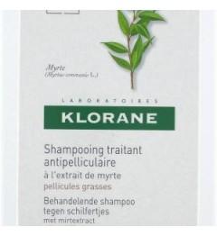 Shampoing Klorane Myrte Pellicules Grasses 200ml pas cher pas cher