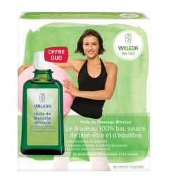 Weleda Huile de Massage Minceur 2x100Ml pas cher