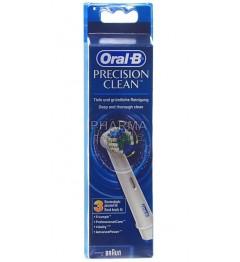 Oral-B Brossettes Precision Clean 3 Recharges pas cher