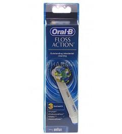 Oral-B Brossettes Floss Action 3 Recharges pas cher pas cher
