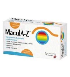 Macula-Z Visée Oculaire 120 Capsules pas cher