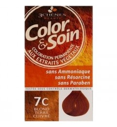 Color et Soin Coloration Blond Terre Cuivré 7C pas cher