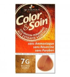 Color et Soin Coloration Blond Doré 7G