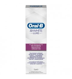 Oral B Dentifrice 3D White Luxe Perfection Blancheur 75Ml pas cher