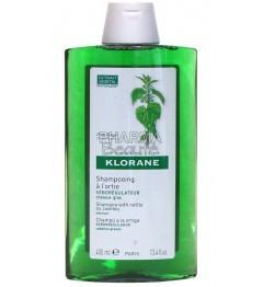 Shampoing Klorane Ortie Séborégulateur 400ml pas cher pas cher