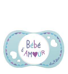 Luc et Léa Sucette 0 à 6 Mois Physio Spécial Allaitement Bébé d'Amour pas cher