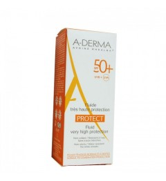 Aderma Solaire Protect Fluide SPF50 40Ml