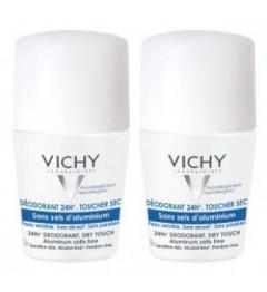 Vichy Déodorant Sans Sels d'Aluminium Bille 2x50Ml pas cher
