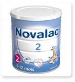 Novalac Lait 2ème Age 800 Grammes pas cher