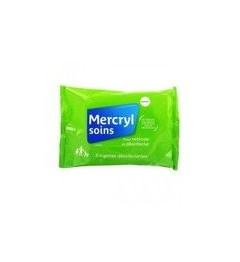 Mercryl Lingettes Antiseptiques Paquet de 5 pas cher