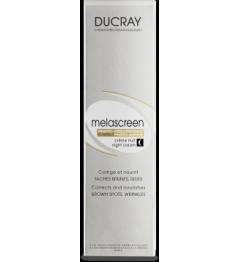 Ducray Melascreen Crème de Nuit Anti Age et Anti taches 50Ml pas cher