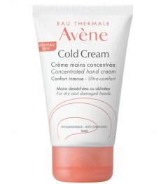 Avène Cold Cream Crème Mains Concentré 2x50Ml pas cher