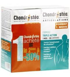 Chondrosteo Lot de 2 Boites de 120 Comprimés pas cher