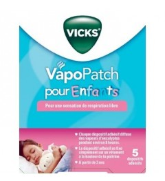 Vicks Vapopatch Boite de 5 Patchs