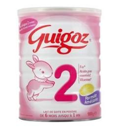 Guigoz Lait 2ème Age de 6 à 12 mois 800 G
