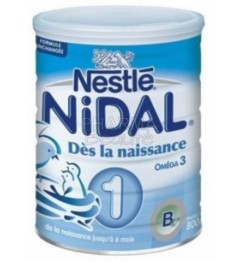 NIDAL Natéa Lait 1er Age dès la Naissance 800 G