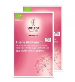 Weleda Tisane d'Allaitement Fruits Rouges 20 Sachets