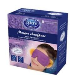 Optone Activmask Masque Chauffant Pack de 8 pas cher