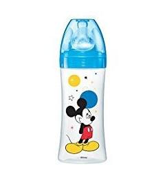 Dodie Biberon Initiation 330Ml Mickey Bleu Plus de 6 Mois pas cher