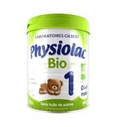 Physiolac Lait Bio 1er Age 800 Grammes pas cher