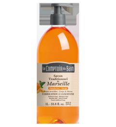 Comptoir du Bain Savon Liquide Mandarine Sauge 1 Litre