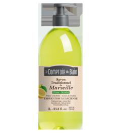 Comptoir du Bain Savon Liquide Citron Menthe 1 Litre
