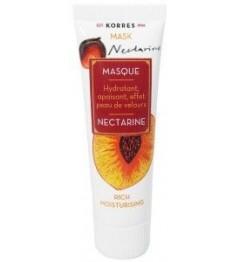 Korres Nectarine Masque Hydratant Apaisant 18Ml pas cher