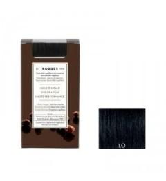 Korres Coloration Permanente Huile d'Argan Noir 1.0 pas cher