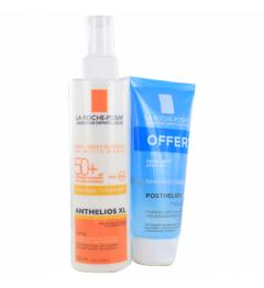 La Roche Posay Anthelios Spray avec Parfum SPF50 200Ml et Posthelios 40Ml Offert pas cher
