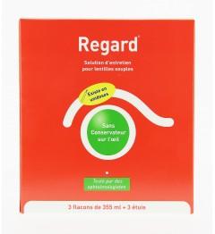 Regard Solution Multifonctions Lentilles 3 Flacons de 355ml