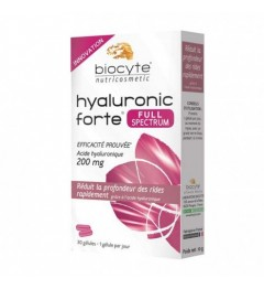 Biocyte Hyaluronic Forte Full Spectrum 30 Gélules pas cher