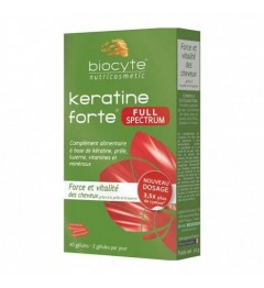 Biocyte Keratine Forte Full Spectrum 40 Gélules pas cher
