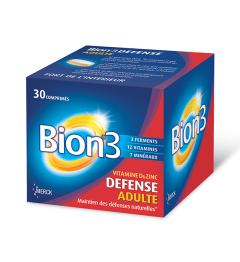 Bion 3 Adultes Défense 30 Comprimés