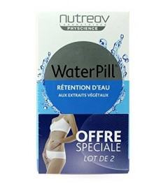 Nutreov Water Pill Retention d'Eau 30 Comprimés Lot de 2 pas cher