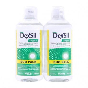 Dexsil Original Silicium Organic Bio Activé Lot de 2 x 1 Litre