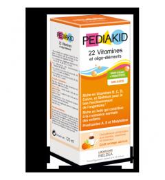 Pediakid 22 Vitamines Oligo Eléments 125Ml pas cher