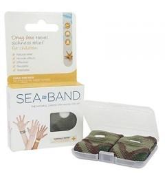 Sea Band 2 Bracelets Nausées Enfant Vert pas cher