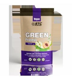 STC Vegan Green Protein Smoothie Pomme Pêche 500 Grammes pas cher