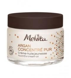Melvita Argan Concentré Crème Huile Jeunesse 50Ml pas cher