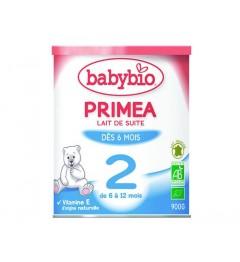 Babybio Primea 2 Lait dès 6 Mois 900 Grammes pas cher