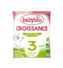 Babybio Croissance Lait dès 10 Mois 900 Grammes pas cher