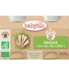 Babybio Mes Légumes dès 4 Mois Pot Panais 2x130 Grammes pas cher