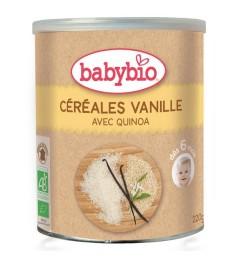 Babybio Céréales Vanille dès 6 Mois 220 Grammes pas cher