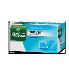 Médiflor Thé Vert 24 Sachets Infusion pas cher