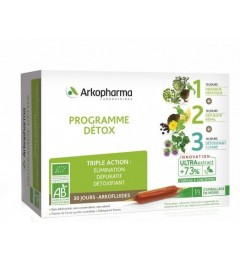 Arkofluide Programme Détox Bio 30 Jours pas cher