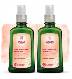Weleda Pack Duo Vergétures 2x100Ml