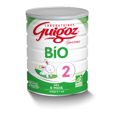 Guigoz Lait Bio 2ème Age 6 à 12 mois 800 G