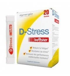 Synergia D-Stress Booster 20 Sachets pas cher