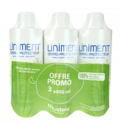 Mustela Liniment Dermo Protecteur 3x400Ml pas cher